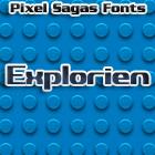 Explorien font by Pixel Sagas