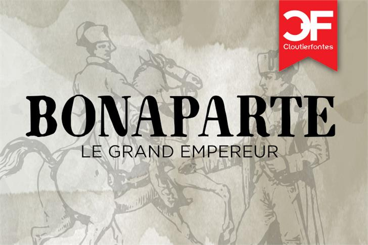 NapoleonDemo font by CloutierFontes
