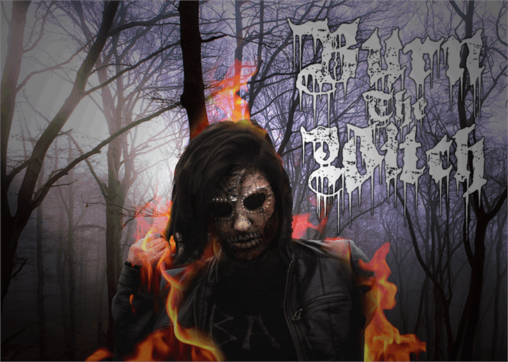 Burn The Witch font by Font Monger