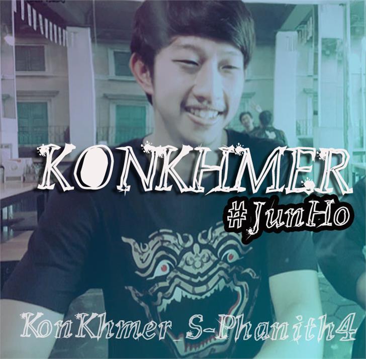 KonKhmer_S-Phanith4 font by Suonmay Sophanith