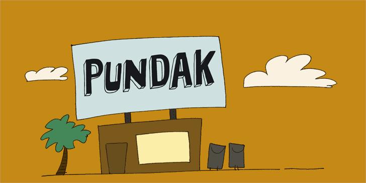 DK Pundak font by David Kerkhoff