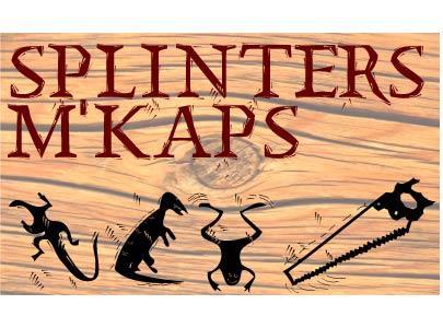 SplinterMKaps font by Manfred Klein