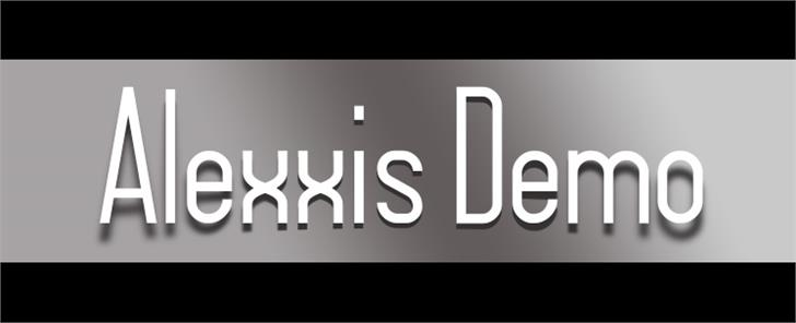 Alexxis Demo font by VVB DESIGNS