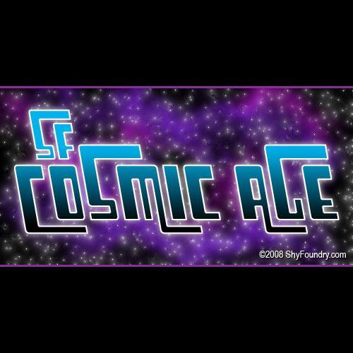 SF Cosmic Age font by ShyFoundry