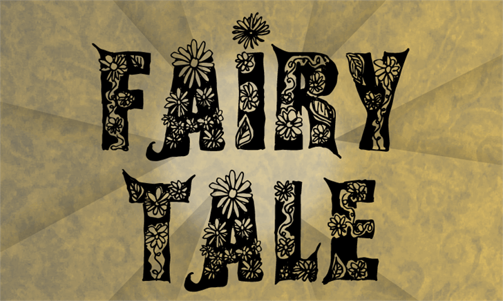 Fairy Tale font by CloutierFontes