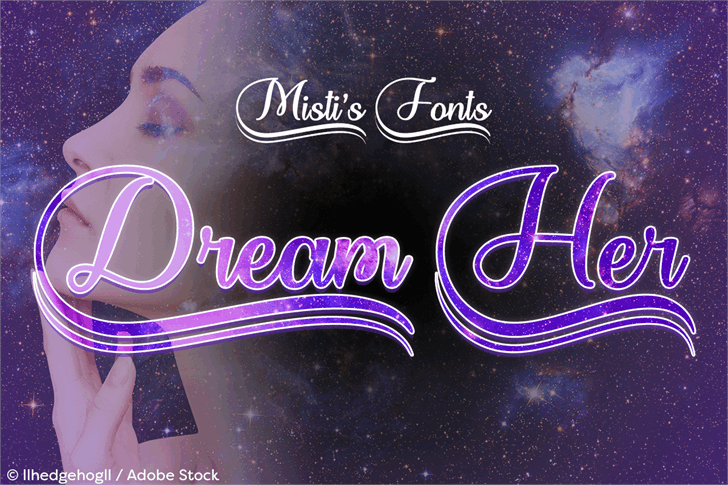 Dream Her font by Misti's Fonts