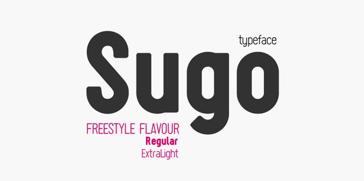 Sugo font by Zetafonts