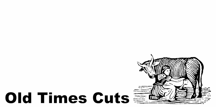 Old Times Cuts font by Intellecta Design