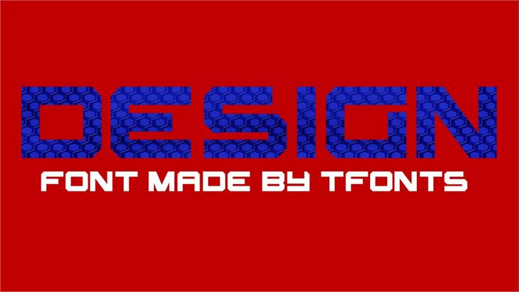Design font by TFonts1