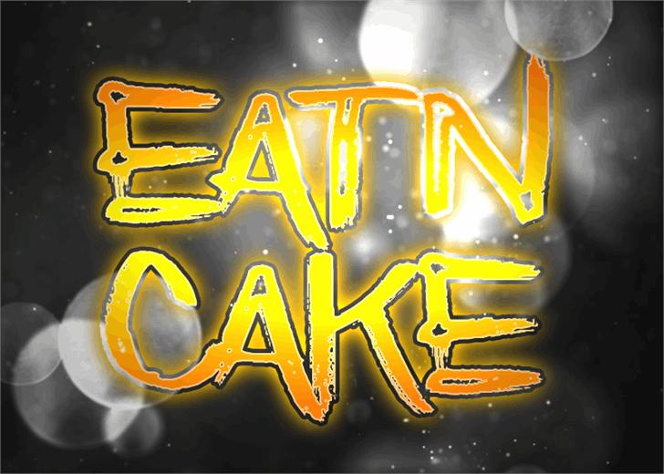Eatn Cake font by Font Monger
