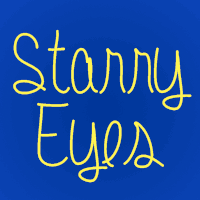 Starry Eyes font by melifonts