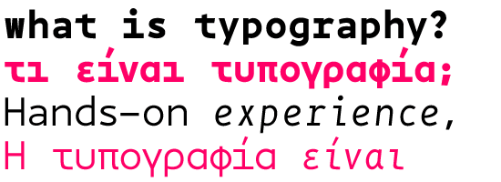 BPmono font by backpacker