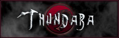 Thundara font by Pixel Sagas