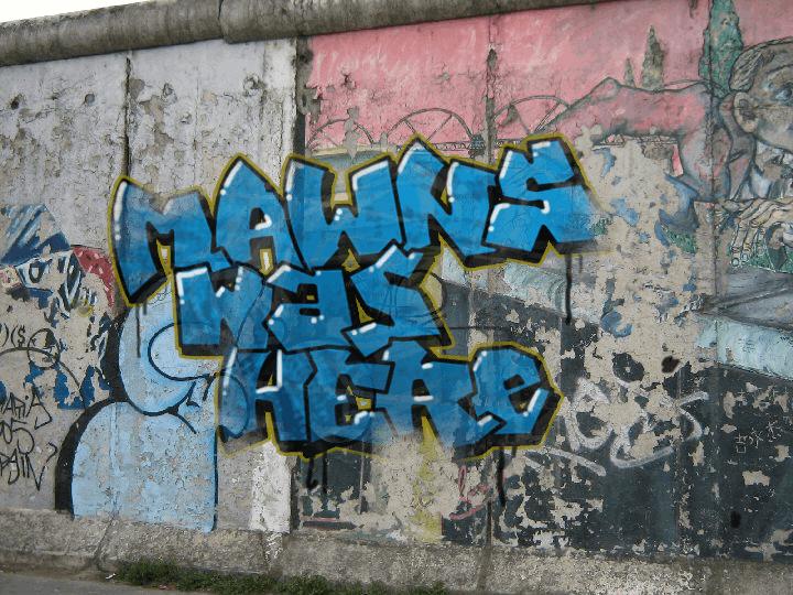 MAWNS' Graffiti Filled font by Måns Grebäck