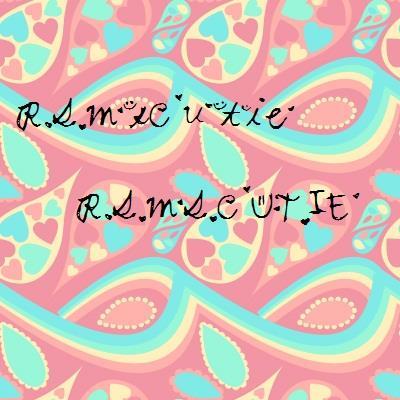 RSMsCutie font by LittleMissFont