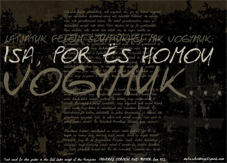 Isa Por Es Homou font by Roland Huse Design