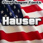 Hauser font by Pixel Sagas
