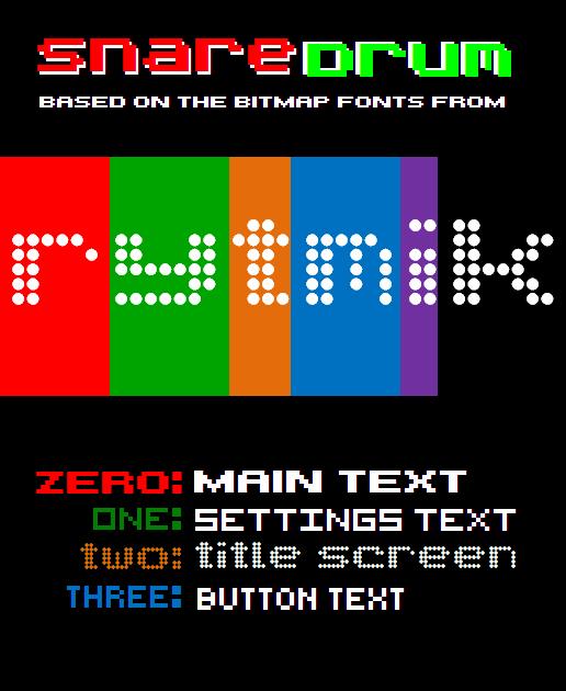 SnareDrum One NBP font by total FontGeek DTF, Ltd.