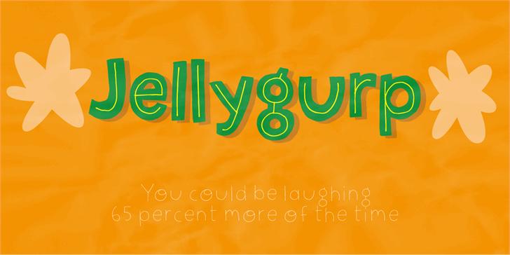 Jellygurp DEMO font by pizzadude.dk