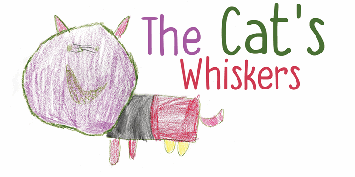 DK The Cats Whiskers font by David Kerkhoff