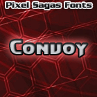 Convoy font by Pixel Sagas