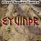Eyvindr font by Pixel Sagas