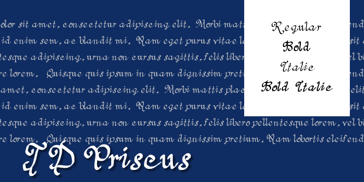 JD Priscus font by Jecko Development