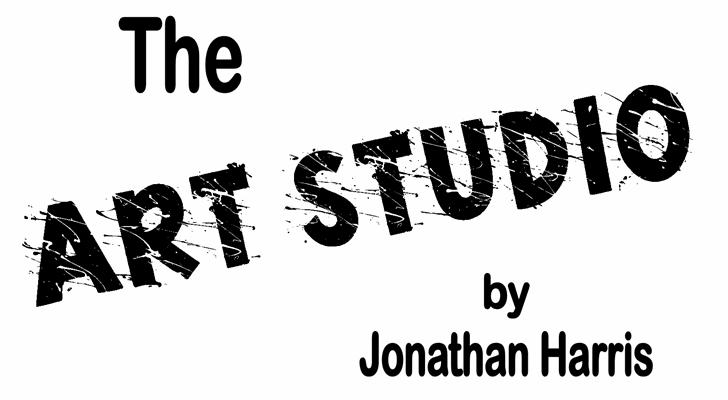 Art Studio font by Jonathan S. Harris