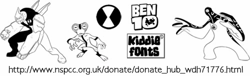 BENS ALIENS font by KiddieFonts