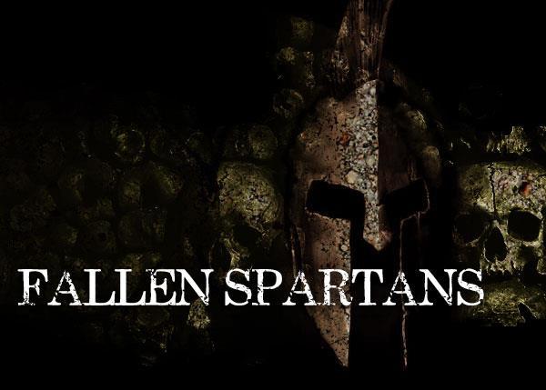 Fallen Spartans font by Font Monger