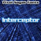 Interceptor font by Pixel Sagas