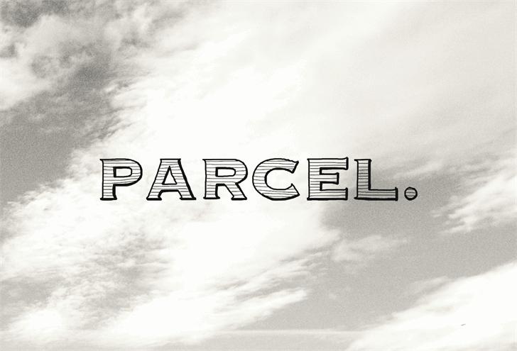 Parcel font by Jake Luedecke Motion & Graphic Design