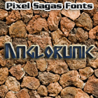 Anglorunic font by Pixel Sagas