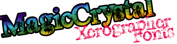 MagicCrystal font by Xerographer Fonts