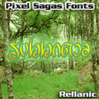 Rellanic font by Pixel Sagas