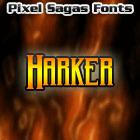 Harker font by Pixel Sagas