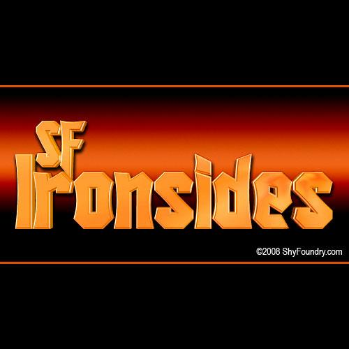 SF Ironsides font by ShyFoundry