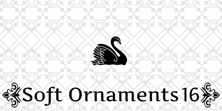 Soft Ornaments Fifteen font by Intellecta Design