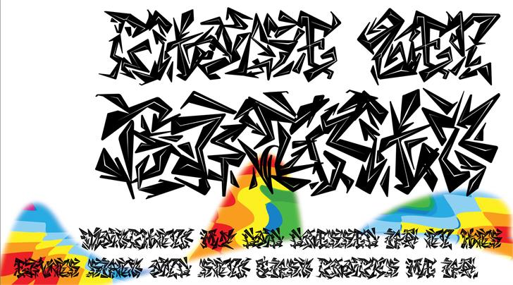 CHASE ZEN BLIGHT font by chung deh tien chase zen
