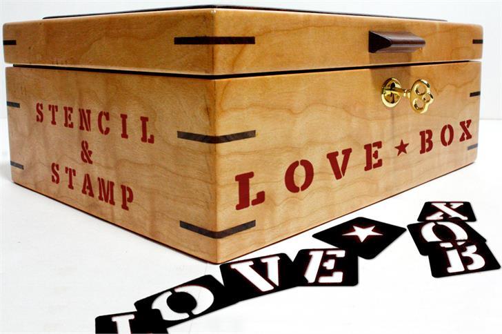 LOVE-BOX font by deFharo