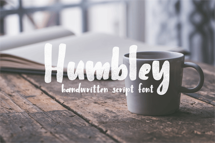 Humbley Script font by Out Of Step Font Company