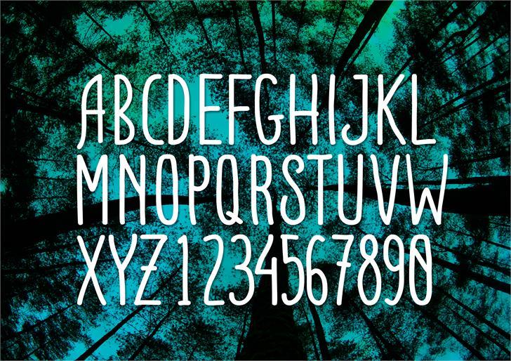 ADENTULISAN font by yudhastunkind