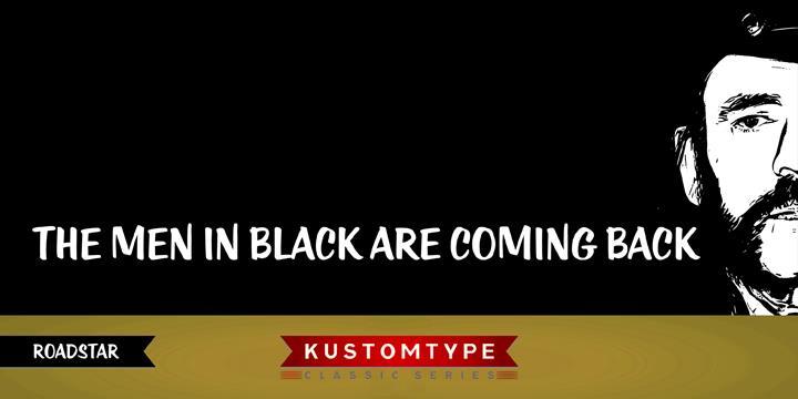 KTF-Roadstar font by KTF | Kustomtype