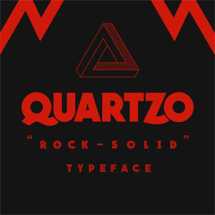 QUARTZO demo font by Herofonts