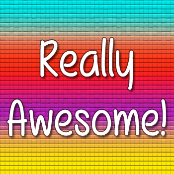 Mf Really Awesome font by Misti's Fonts