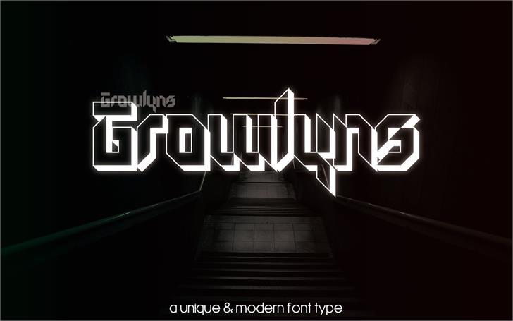Growlyns font by SOFDesign