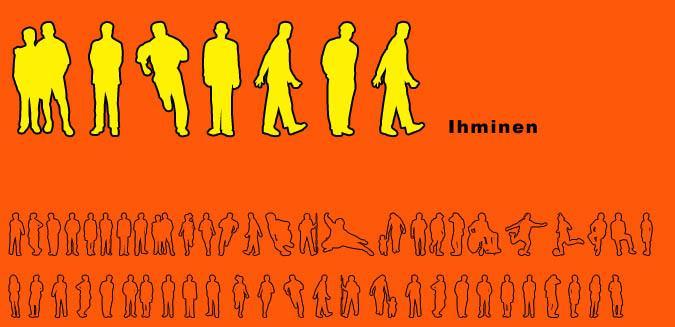 Ihminen  font by Fontomen