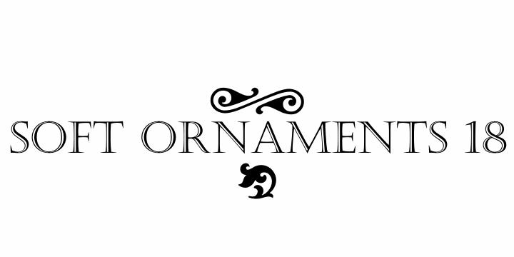 Soft Ornaments Eighteen font by Intellecta Design
