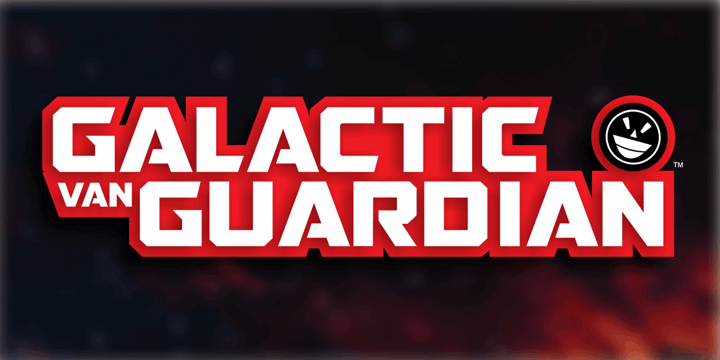 GALACTIC VANGUARDIAN font by the Fontry