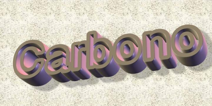 carbono font by Intellecta Design